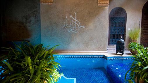 利亚德考尔酒店 - 马拉喀什 - 游泳池