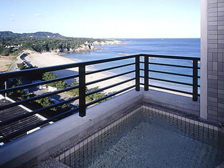 哈玛诺米亚比特日式旅馆 - 鸟羽市 - 阳台