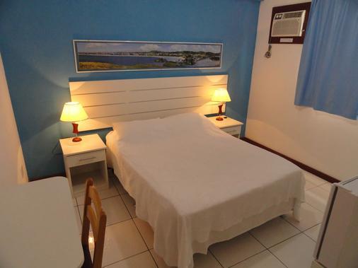 阿瓜斯堡旅馆 - 卡波布里奥 - 睡房