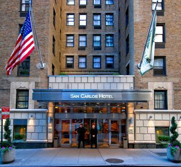 纽约圣卡洛斯酒店 - 纽约 - 建筑