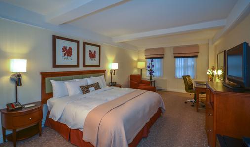 纽约圣卡洛斯酒店 - 纽约 - 睡房