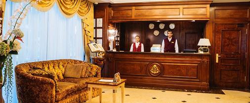 诺比尔豪华精品酒店 - 基希訥烏 - 柜台