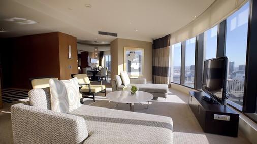 皇冠度假酒店 - 墨尔本 - 客厅