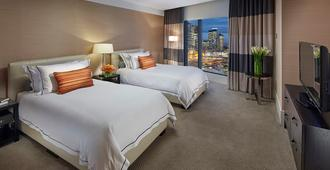 皇冠大厦酒店 - 墨尔本 - 睡房