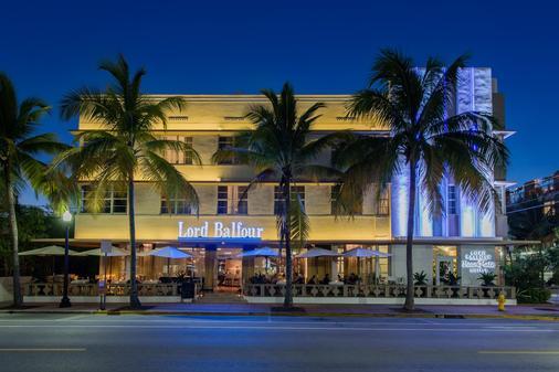 贝尔福勋爵室友酒店 - 迈阿密海滩 - 建筑