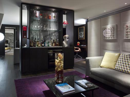 南广场酒店 - 伦敦 - 客厅