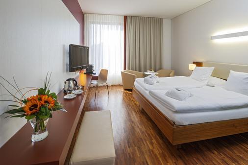 司徒奇酒店 - 巴塞尔 - 睡房