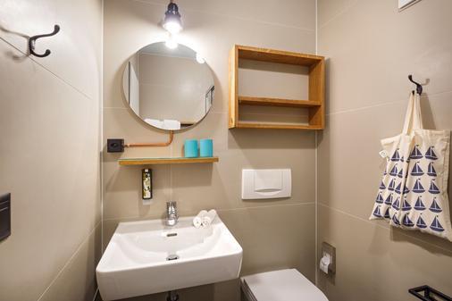 伯尔尼奥攀布莱克酒店 - 伯尔尼 - 浴室
