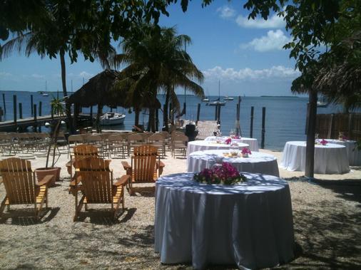 湖岛小屋酒店 - 基拉戈 - 宴会厅
