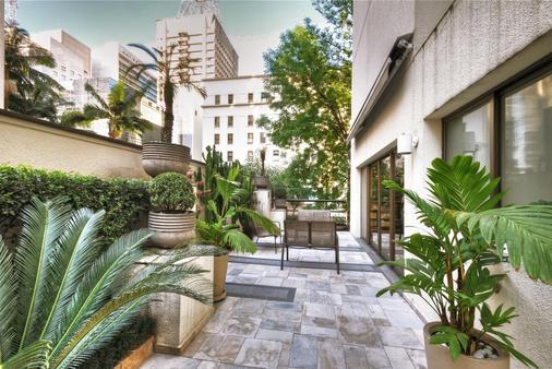 保利斯塔行政全美酒店 - 圣保罗 - 露台