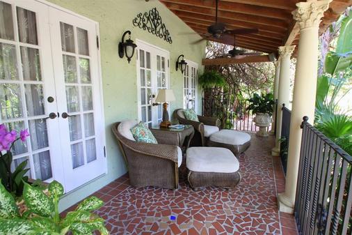美景住宿加早餐旅馆 - West Palm Beach - 阳台
