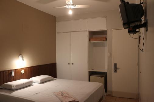 埃尔皮拉尔酒店 - 巴西利亚 - 睡房