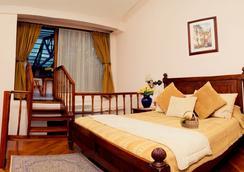安达卢斯露台酒店 - 基多 - 睡房
