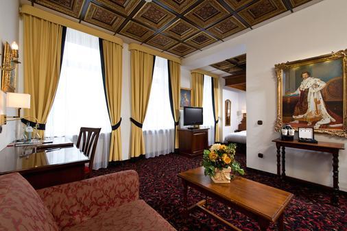 头等国王酒店 - 慕尼黑 - 客厅