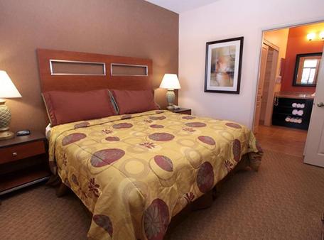 宁静峡谷悬崖酒店 - 拉斯维加斯 - 睡房
