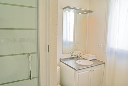 利伯特瓦纳中央公寓式酒店 - 瓦纳 - 浴室
