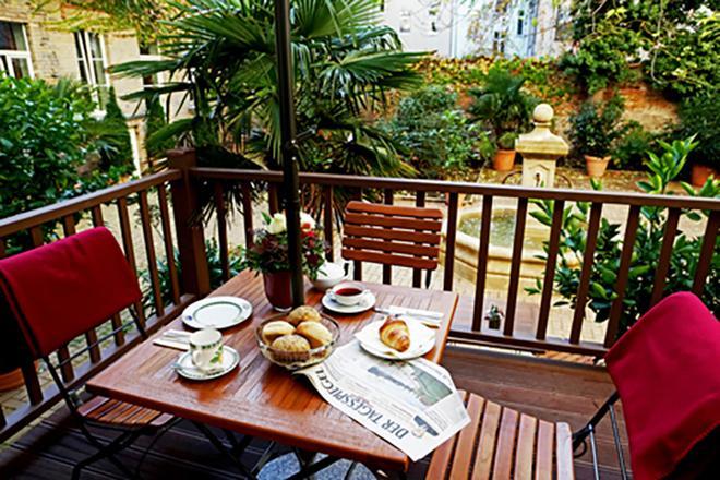 花园生活精品酒店 - 柏林 - 阳台