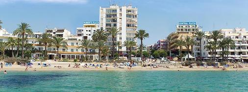 普莱雅中心酒店 - 伊维萨镇 - 海滩