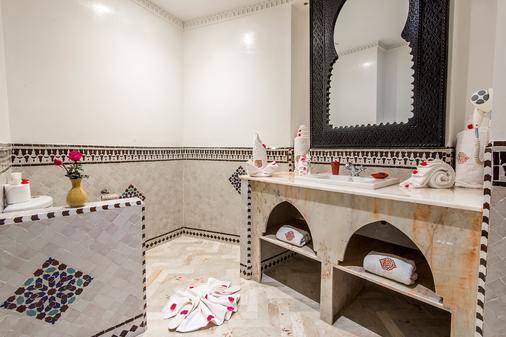 马拉喀什里酒店与里亚德艺术广场 - 马拉喀什 - 浴室