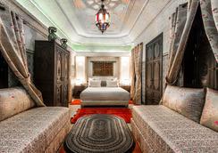 马拉喀什里酒店与里亚德艺术广场 - 马拉喀什 - 睡房