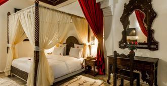 马拉喀什艺术广场酒店-摩洛哥传统住宅 - 马拉喀什 - 睡房
