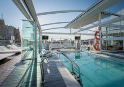 奥斯卡媒介酒店 - 马德里 - 游泳池
