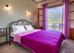 斯缇格亚公寓酒店 - 萨米 - 睡房