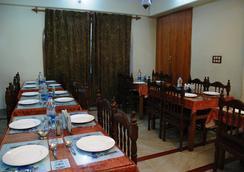 Hotel Shaneel Residency - 斯利那加 - 餐馆