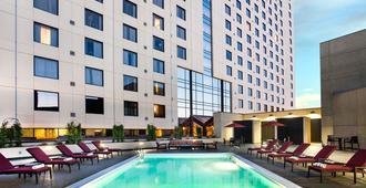 奥克兰市中心万豪酒店 - 奥克兰 - 建筑
