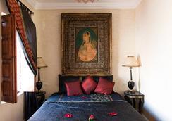 里亚德洛斯亚摩洛哥传统庭院住宅 - 马拉喀什 - 睡房