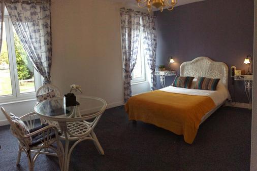 Hotel De La Paix - 里摩日 - 睡房