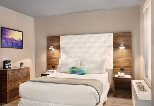温德姆时代广场tryp酒店 - 纽约 - 睡房