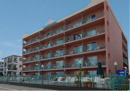 浮桥康福特酒店 - 大洋城 - 建筑