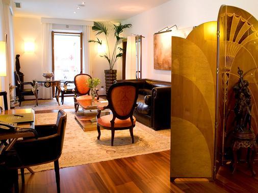 米拉多达特酒店 - 伊维萨镇 - 客厅