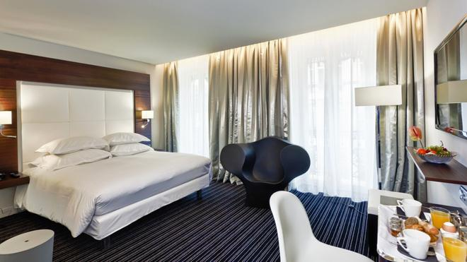 格勒诺布尔大酒店 - 格勒诺布尔 - 睡房