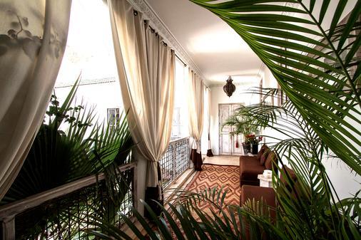 安妮萨特摩洛哥传统庭院住宅 - 马拉喀什 - 门厅
