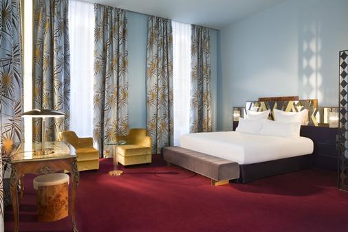 巴黎圣马可酒店 - 巴黎 - 睡房