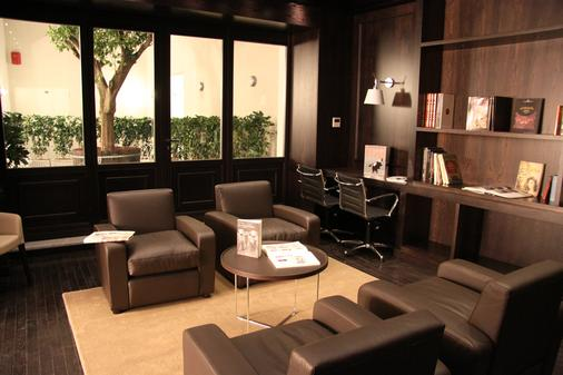 普拉索斯塔诺酒店 - 巴勒莫 - 休息厅