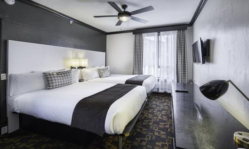 阿丹提酒店 - 旧金山 - 睡房