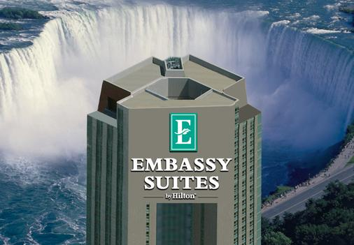 尼亚加拉瀑布/瀑景大使套房酒店 - 尼亚加拉瀑布 - 建筑