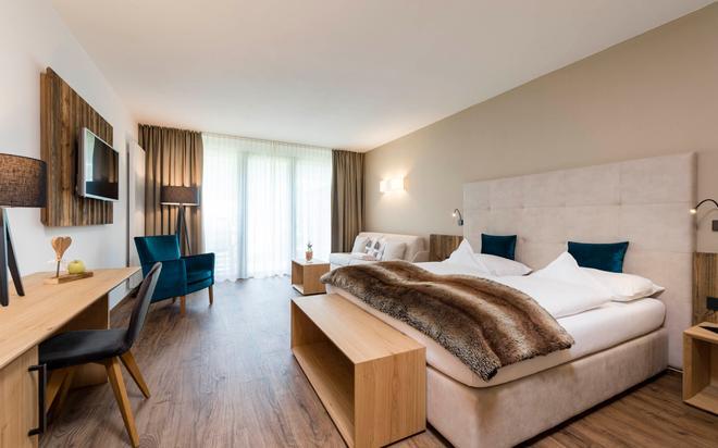 雷纳尔阿尔卑斯酒店 - 奥蒂塞伊 - 睡房