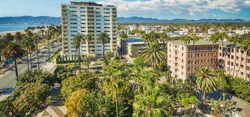 费尔蒙米拉马尔酒店&单层小屋 - 圣莫尼卡 - 建筑