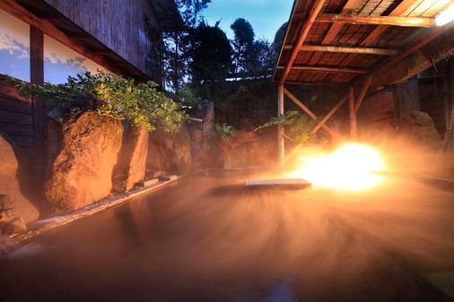 汤田中温泉清风庄 - 山之內町 - 浴室