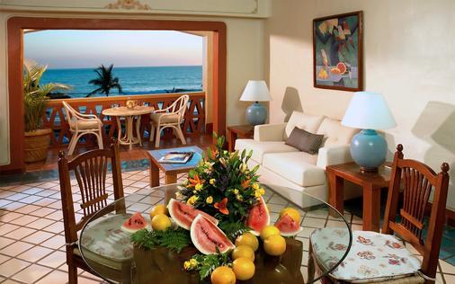 普韦布洛马萨特兰全包度假村 - 马萨特兰 - 客厅