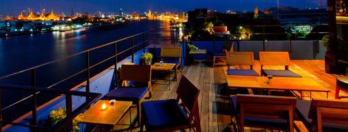 班王朗滨江酒店 - 曼谷 - 阳台