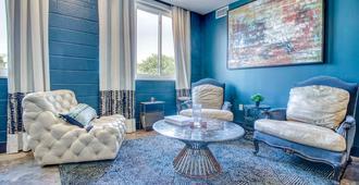 毕夏普艺术酒店 - 蓝色阁楼 - 达拉斯 - 休息厅