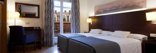 加尼维特酒店 - 马德里 - 睡房