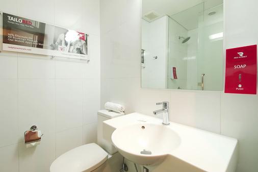 红色星球马卡蒂马尼拉酒店 - Makati - 浴室