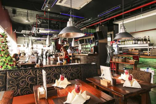 红色星球马卡蒂马尼拉酒店 - Makati - 酒吧