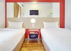 达沃红色星球酒店 - 达沃 - 睡房